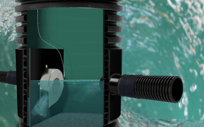 Control the flow with Vortiflo and prevent downstream flooding