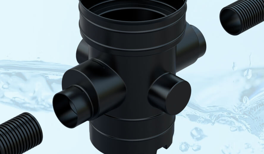NEW PRODUCT LAUNCH: 450mm catch-pit for use with 150mm & 225mm twinwall pipe systems
